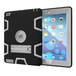 """Купить Противоударный чехол Hybrid Shockproof Black/Gray для iPad 9.7"""" (2017)/Air"""