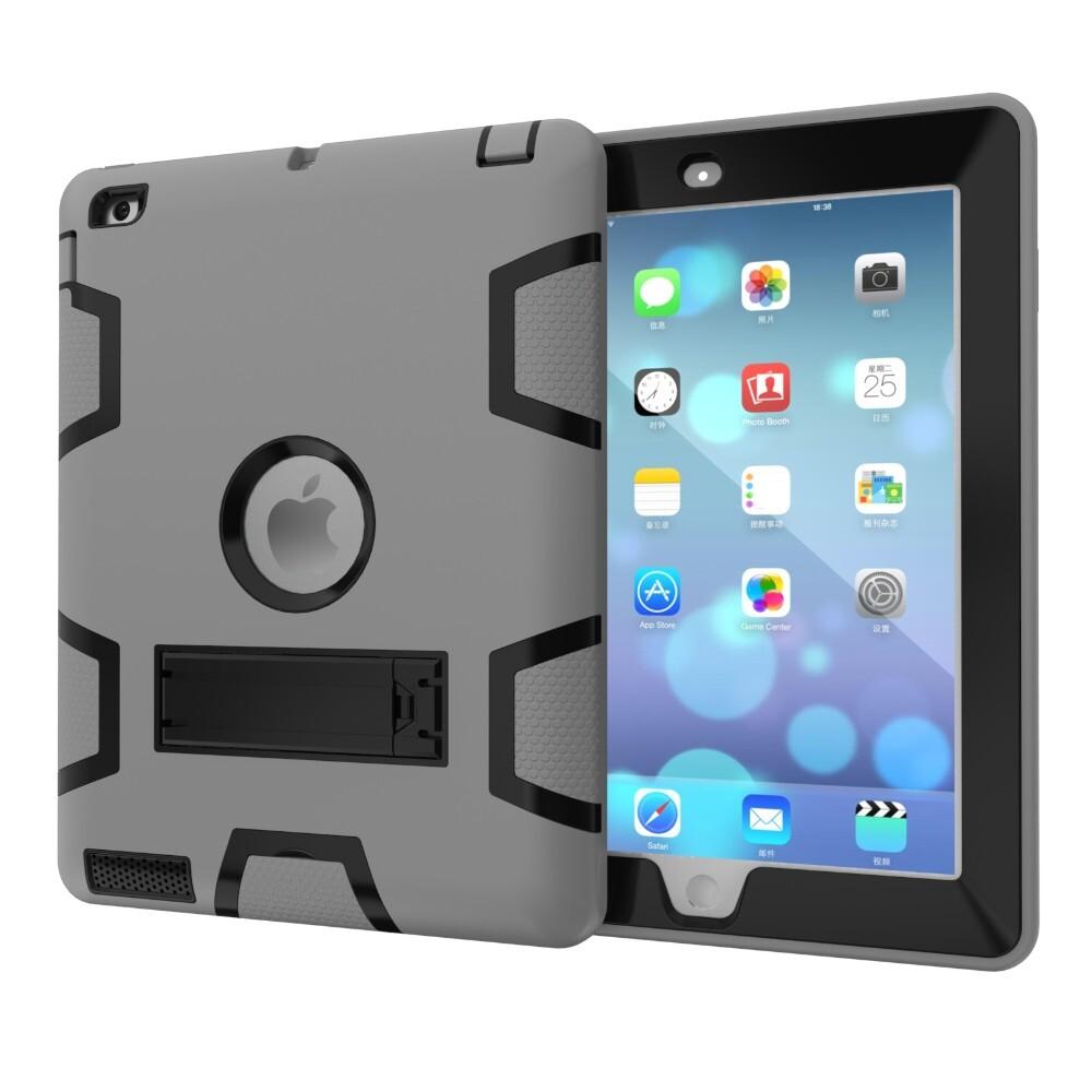 "Противоударный чехол Hybrid Shockproof Gray/Black для iPad 9.7"" (2017)/Air"