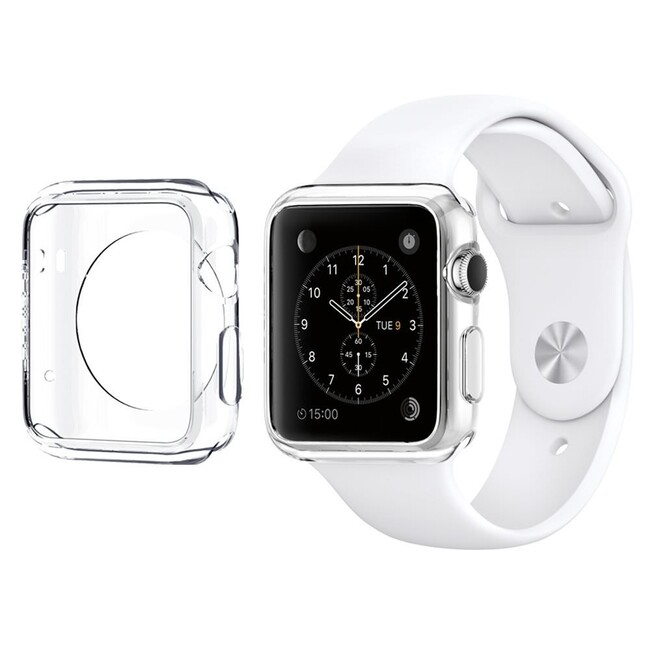 Чехол Spigen Liquid Crystal для Apple Watch 38mm