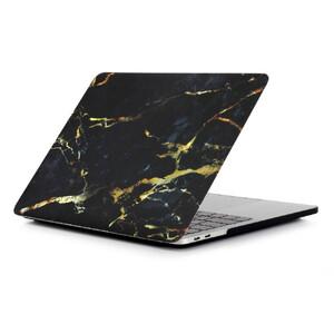 """Купить Мраморный чехол oneLounge Marble Black/Yellow для MacBook Air 13"""" (2020/2019/2018)"""