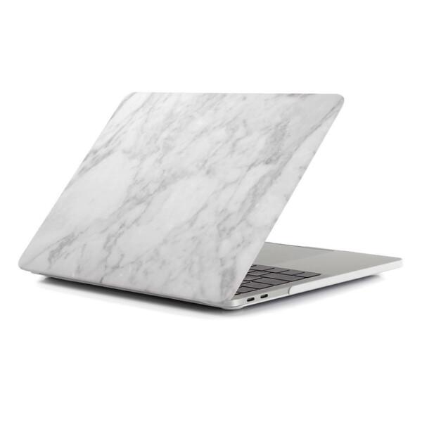 """Мраморный чехол iLoungeMax Marble White   White для MacBook Air 13"""" (M1   2020   2019   2018)"""