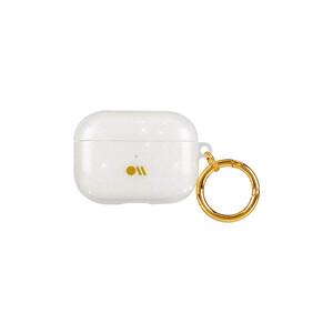 Купить Блестящий силиконовый чехол с карабином Case-Mate Crystal для AirPods Pro