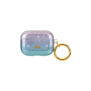 Купить Блестящий силиконовый чехол с карабином Case-Mate Iridescent Crystal для AirPods Pro