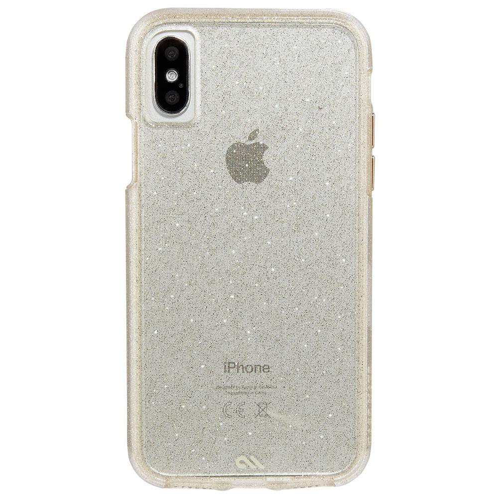 Купить Чехол-накладка Case-Mate Naked Tough Sheer Glam для iPhone X | XS