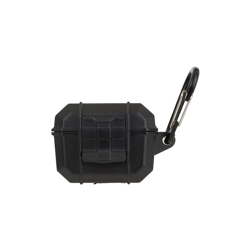 Купить Противоударный водонепроницаемый чехол с карабином Pelican Marine Black для AirPods Pro