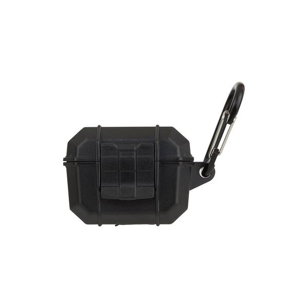 Противоударный водонепроницаемый чехол с карабином Pelican Marine Black для AirPods Pro