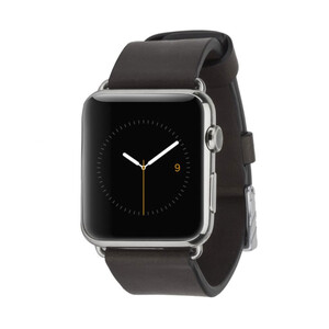 Купить Кожаный ремешок Case-Mate Signature Leather Band Black для Apple Watch 42mm/44mm Series 1/2/3/4