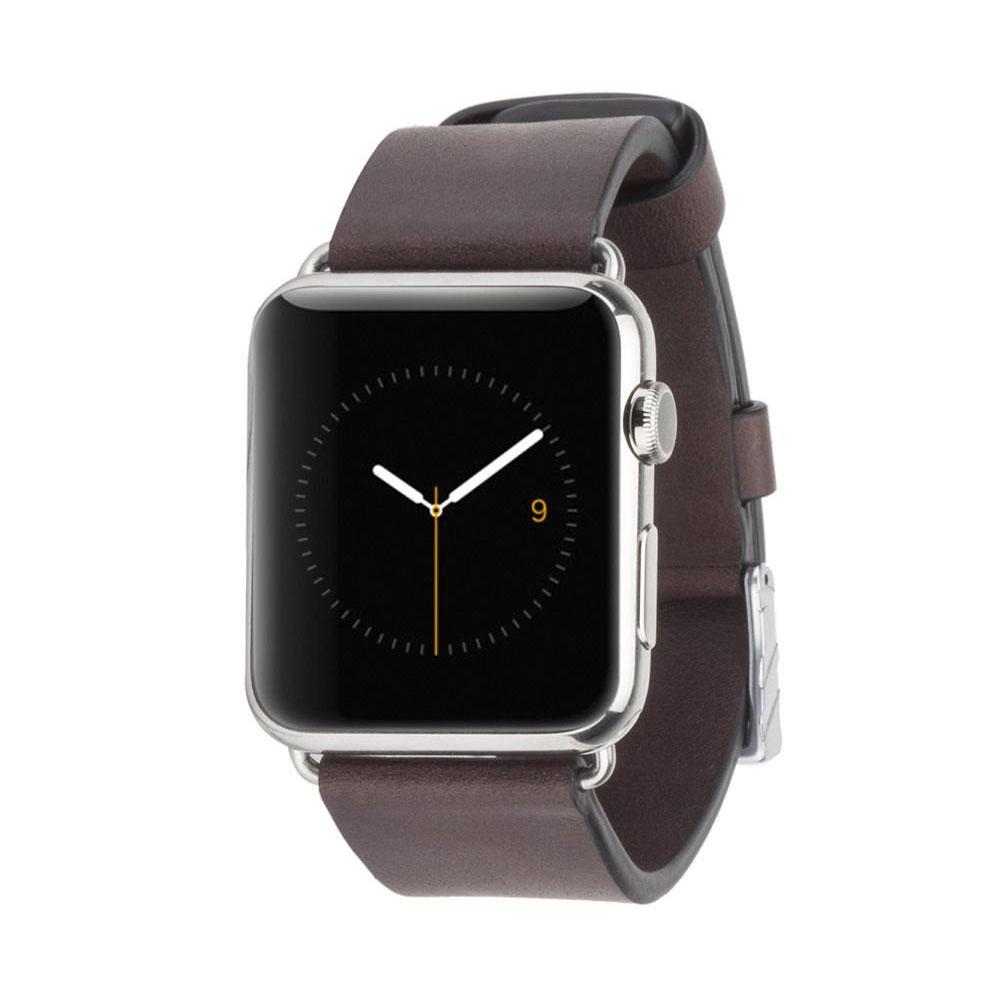 Купить Кожаный ремешок Case-Mate Signature Leather Band Tobacco для Apple Watch 42mm | 44mm SE | 6 | 5 | 4 | 3 | 2 | 1