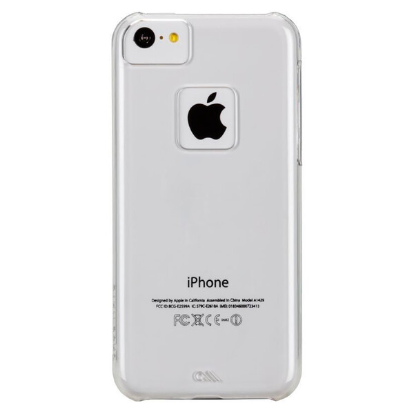 Чехол Case-Mate Naked Tough Clear для iPhone 5c