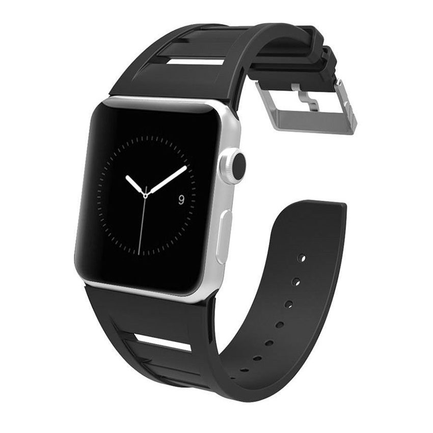 Купить Ремешок Case-Mate Vented Black для Apple Watch 42mm | 44mm SE | 6 | 5 | 4 | 3 | 2 | 1