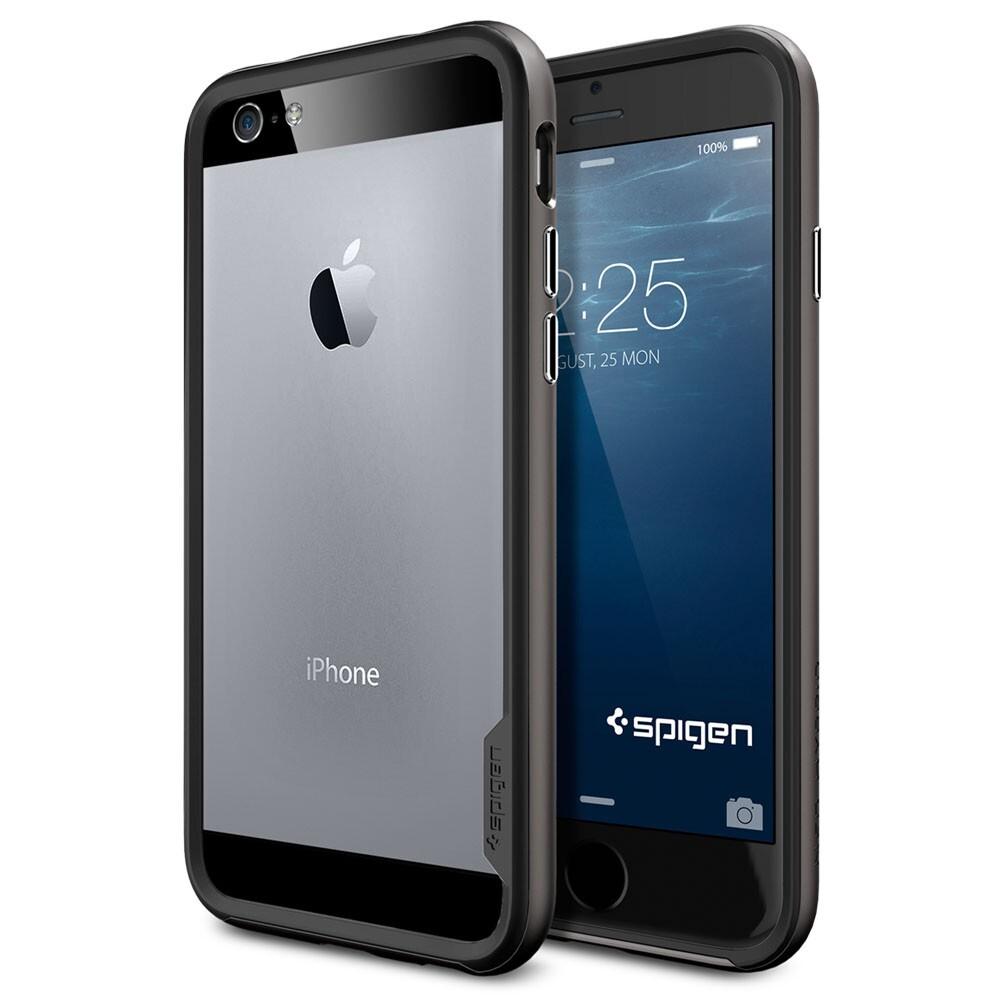 Чехол Spigen Neo Hybrid EX Gunmetal для iPhone 6/6s