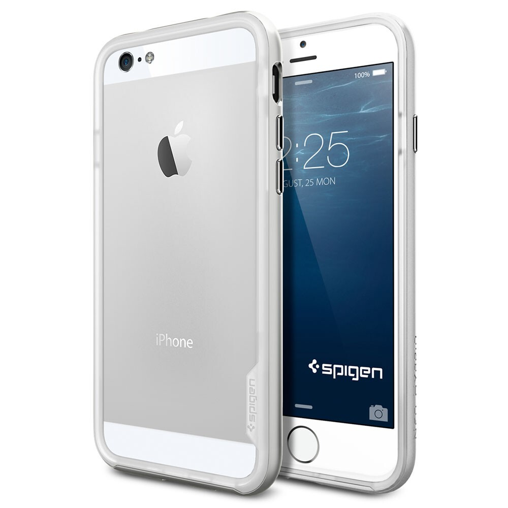 Чехол Spigen Neo Hybrid EX Satin Silver для iPhone 6/6s