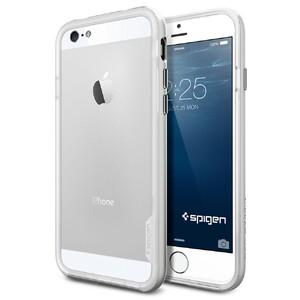 Купить Чехол Spigen Neo Hybrid EX Satin Silver для iPhone 6/6s