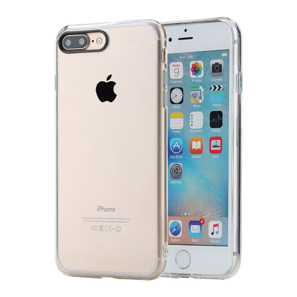 Пластиковый чехол ROCK Pure Series Transparent для iPhone 7 Plus