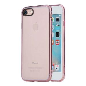 Купить Пластиковый чехол ROCK Pure Series Transparent Pink для iPhone 7
