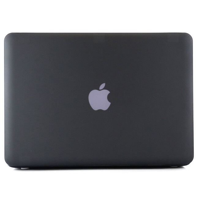 """Черный пластиковый чехол Soft Touch для MacBook Pro 13.3"""""""
