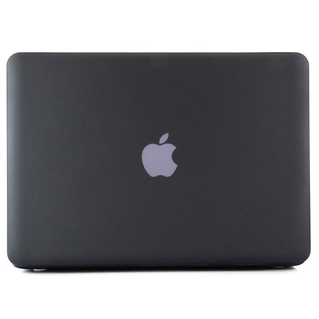 """Черный пластиковый чехол Soft Touch для MacBook Pro 15.4"""""""