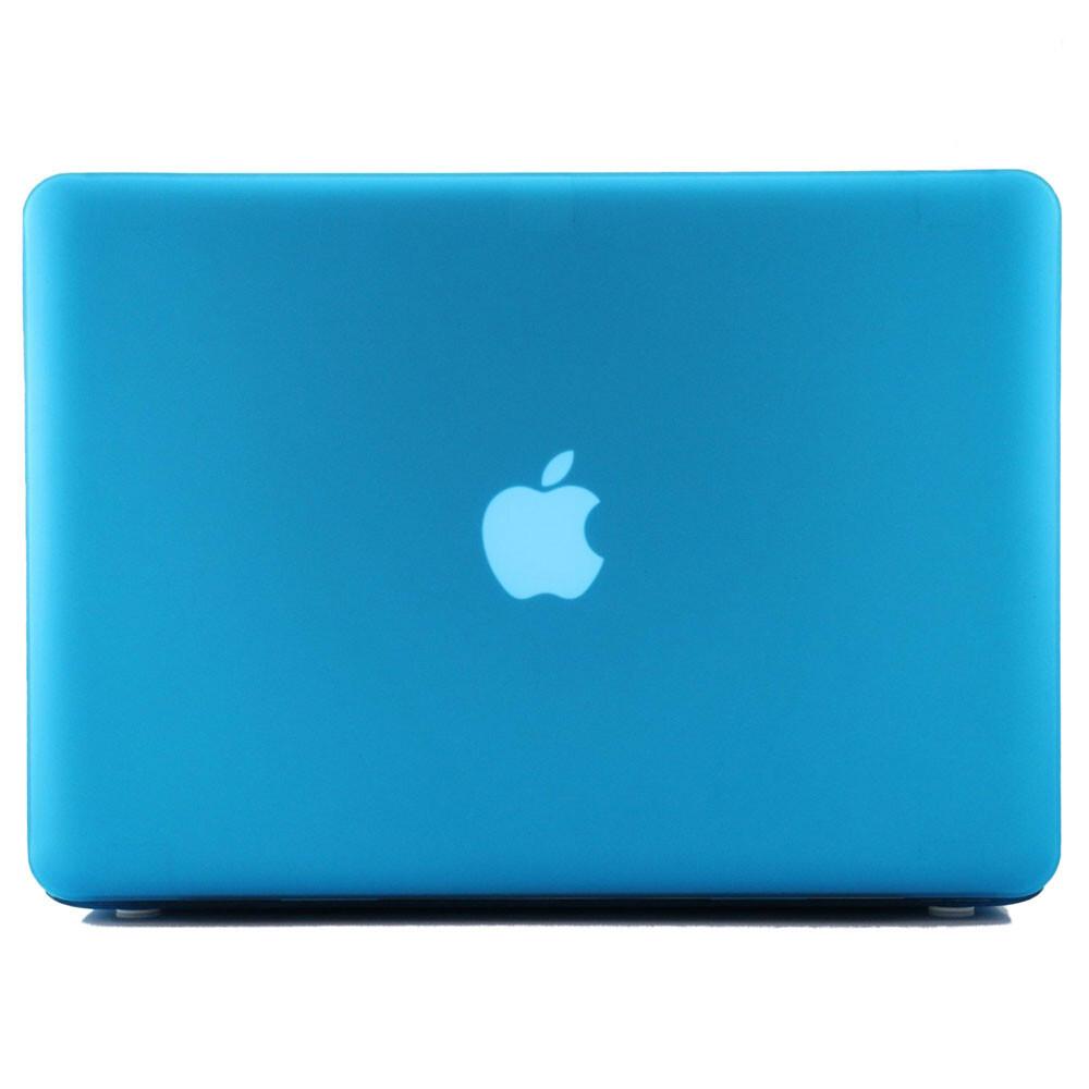 """Синий пластиковый чехол Soft Touch для MacBook Pro 15.4"""""""