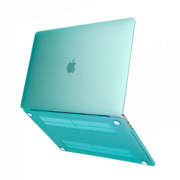 "Пластиковый чехол iLoungeMax Soft Touch Green для MacBook Air 13"" (M1   2020   2019   2018)"