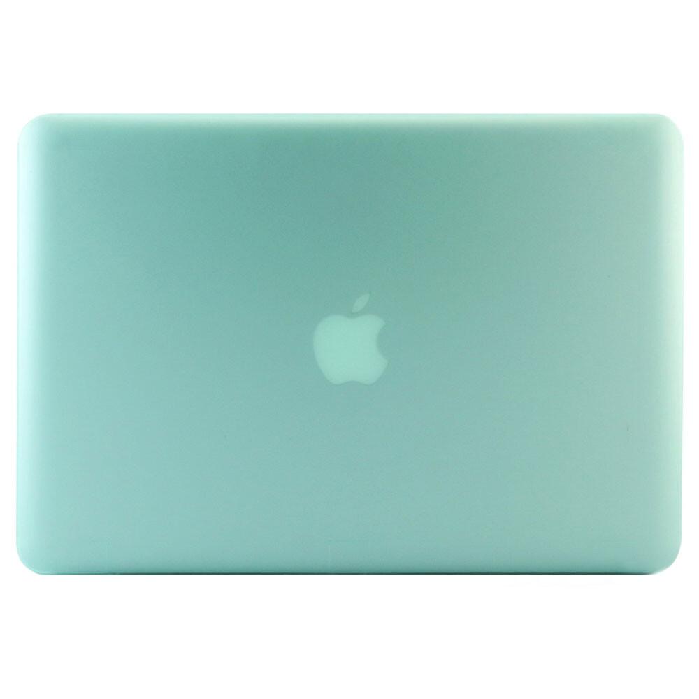 """Салатовый пластиковый чехол Soft Touch для MacBook Pro 13.3"""""""