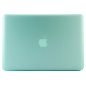 """Купить Салатовый пластиковый чехол Soft Touch для MacBook Pro 15.4"""""""
