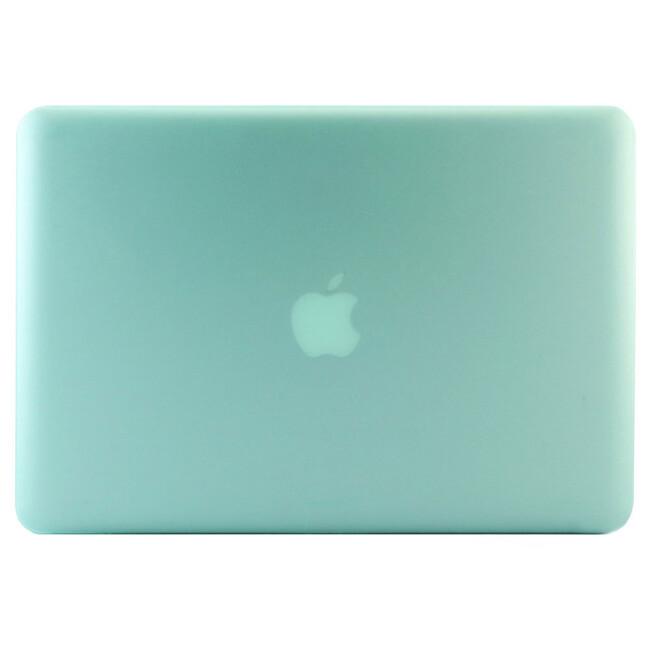 """Салатовый пластиковый чехол Soft Touch для MacBook Pro 15.4"""""""