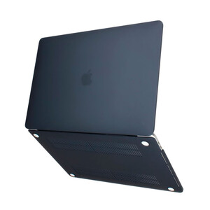"""Купить Пластиковый чехол Soft Touch Black для MacBook Air 13"""" (2018)"""