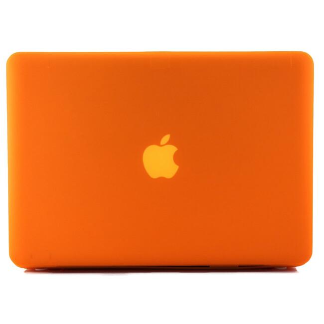 """Оранжевый пластиковый чехол Soft Touch для MacBook Pro 13.3"""""""