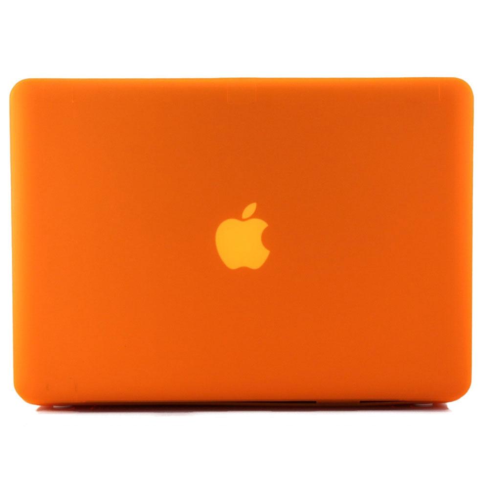 """Купить Оранжевый пластиковый чехол oneLounge Soft Touch для MacBook Pro 15.4"""""""