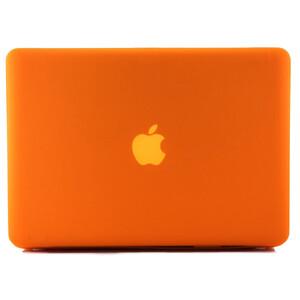 """Купить Оранжевый пластиковый чехол Soft Touch для MacBook Pro 15.4"""""""