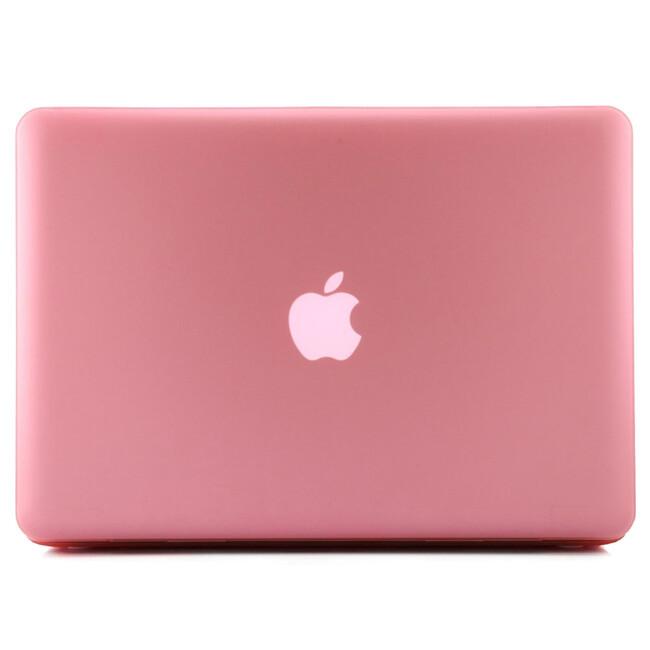 """Розовый пластиковый чехол Soft Touch для MacBook Pro 13.3"""""""