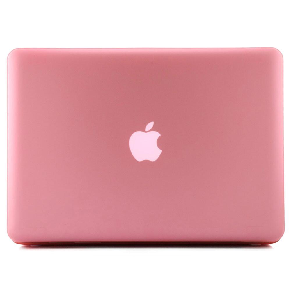 """Розовый пластиковый чехол Soft Touch для MacBook Pro 15.4"""""""