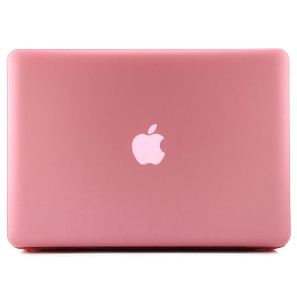 """Розовый пластиковый чехол iLoungeMax Soft Touch для MacBook Pro 15.4"""""""