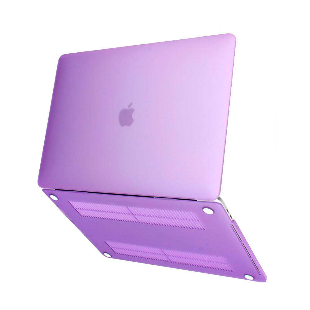 "Пластиковый чехол Soft Touch Purple для MacBook Air 13"" (2018)"