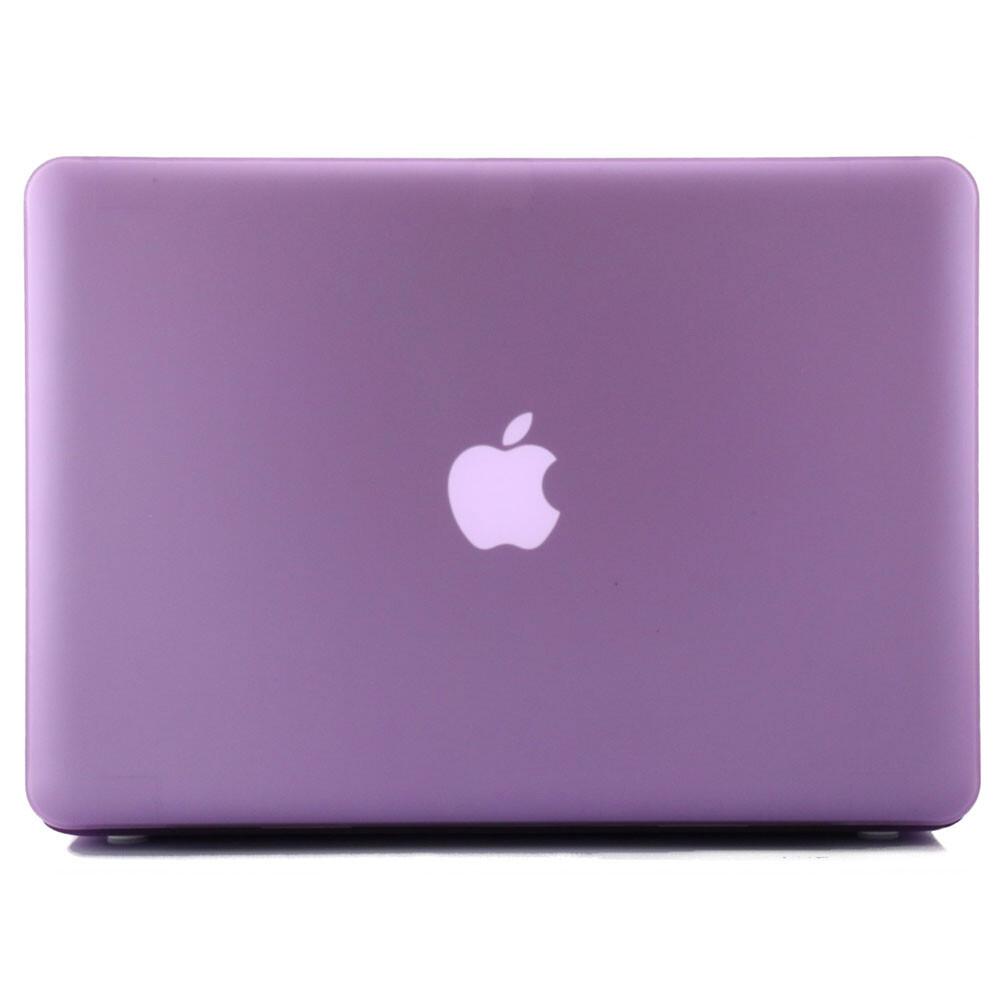 """Фиолетовый пластиковый чехол Soft Touch для MacBook Pro 15.4"""""""