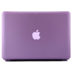"""Купить Фиолетовый пластиковый чехол Soft Touch для MacBook Pro 15.4"""""""