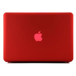 """Купить Красный пластиковый чехол Soft Touch для MacBook Pro 13.3"""""""