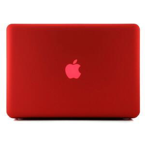 """Купить Красный пластиковый чехол Soft Touch для MacBook Pro 15.4"""""""