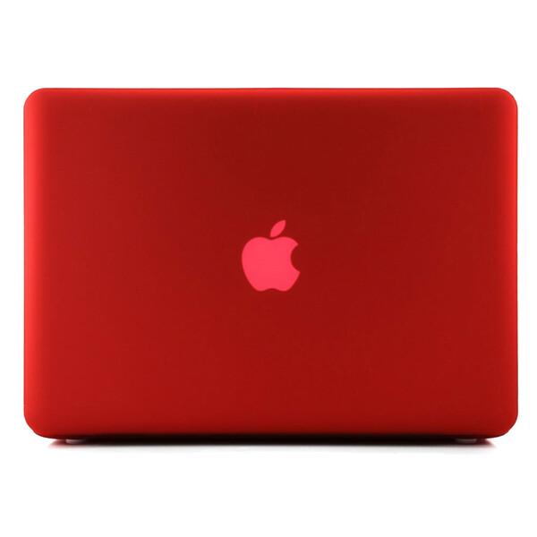 """Красный пластиковый чехол iLoungeMax Soft Touch для MacBook Pro 15.4"""""""