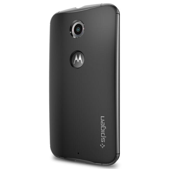 Чехол Spigen Neo Hybrid Satin Silver для Motorola Nexus 6