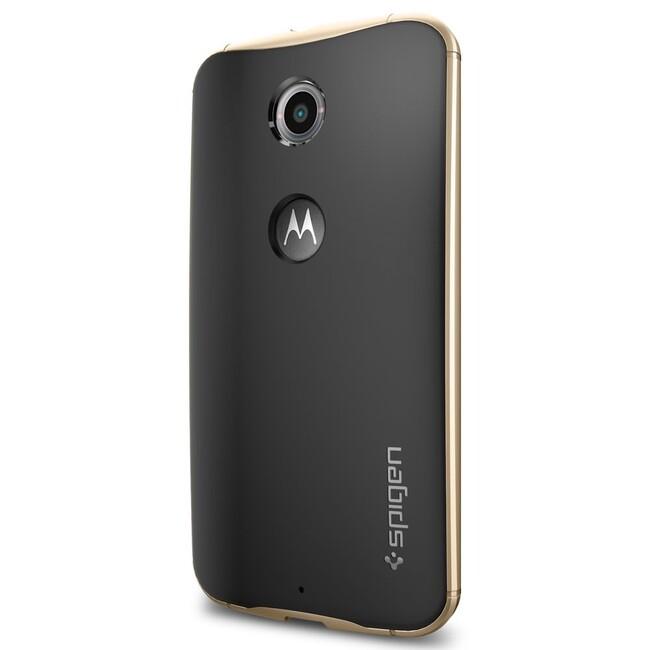 Чехол Spigen Neo Hybrid Champagne Gold для Motorola Nexus 6