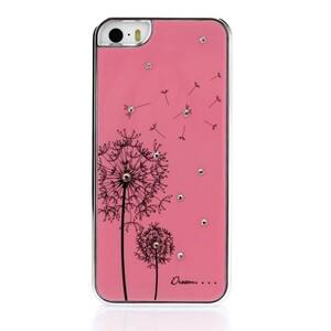 Купить Розовый чехол Dandelion SWAROVSKI для iPhone 5/5S/SE