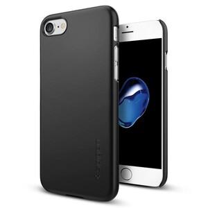 Купить Чехол Spigen Thin Fit Black для iPhone 7/8