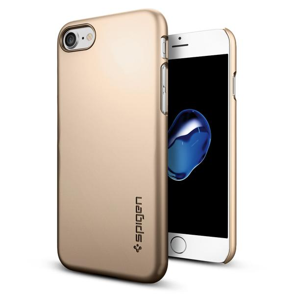 Чехол Spigen Thin Fit Champagne Gold для iPhone 7