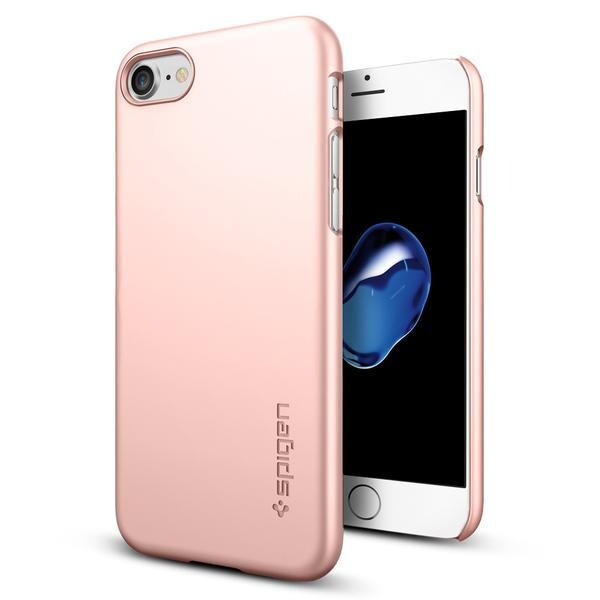 Чехол Spigen Thin Fit Rose Gold для iPhone 7/8