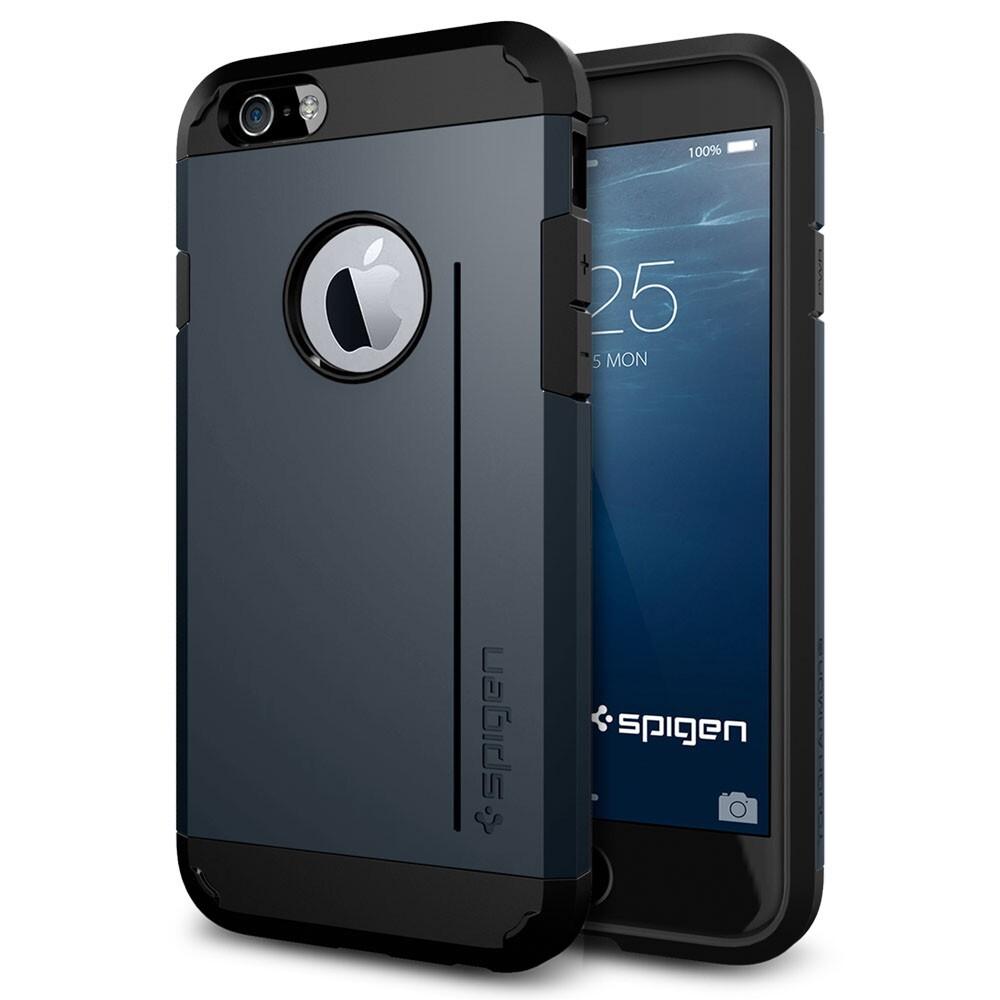 Чехол Spigen Tough Armor S Metal Slate для iPhone 6/6s