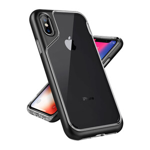 Купить Чехол Caseology Skyfall Black для iPhone X