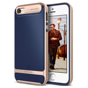 Купить Чехол Caseology Wavelength Navy Blue для iPhone 5/5S/SE