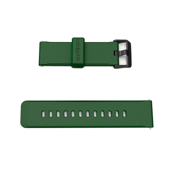 Силиконовый ремешок Catalyst 24mm Watch Band Army Green для Apple Watch 42mm   44mm SE   6   5   4   3   2   1