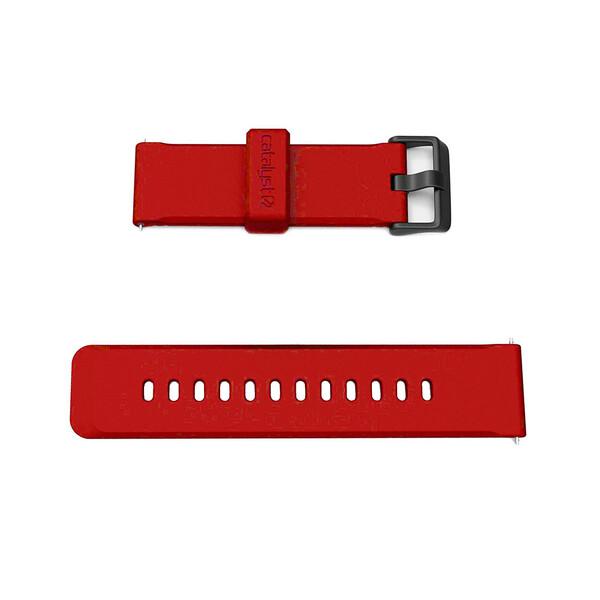 Силиконовый ремешок Catalyst 24mm Watch Band Red Hot для Apple Watch 42mm   44mm SE   6   5   4   3   2   1